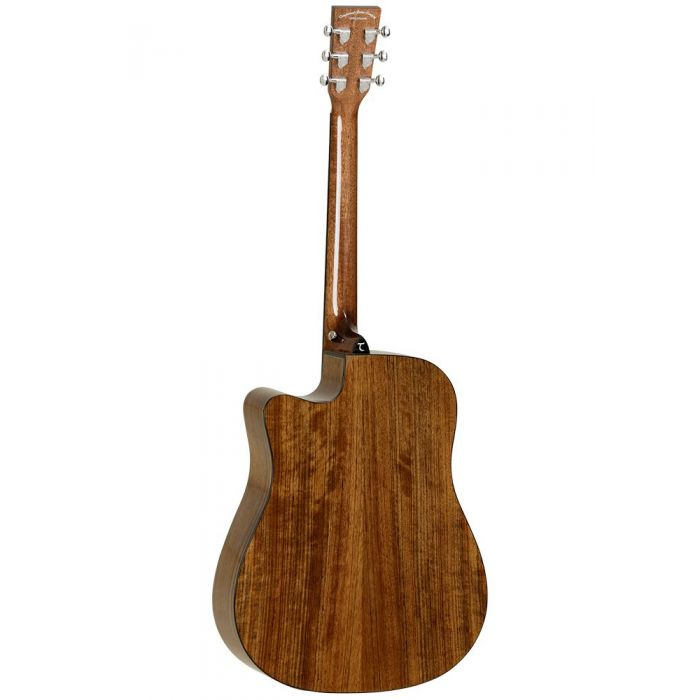 Back of Tanglewood TW28CE X OV Dreadnought Guitar