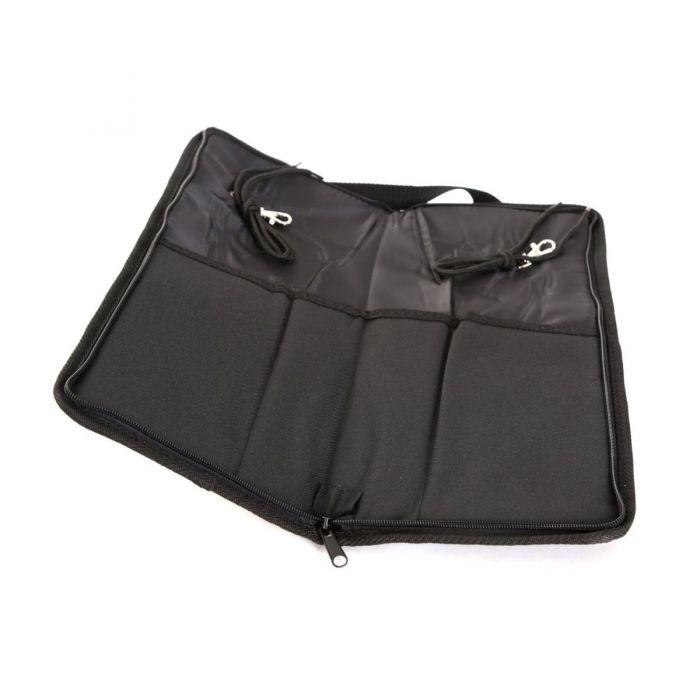 View of Open TourTech Drumstick Bag