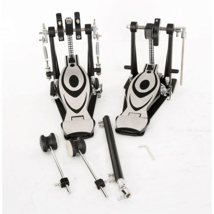 TourTech Double Bass Drum Pedal and Included Components