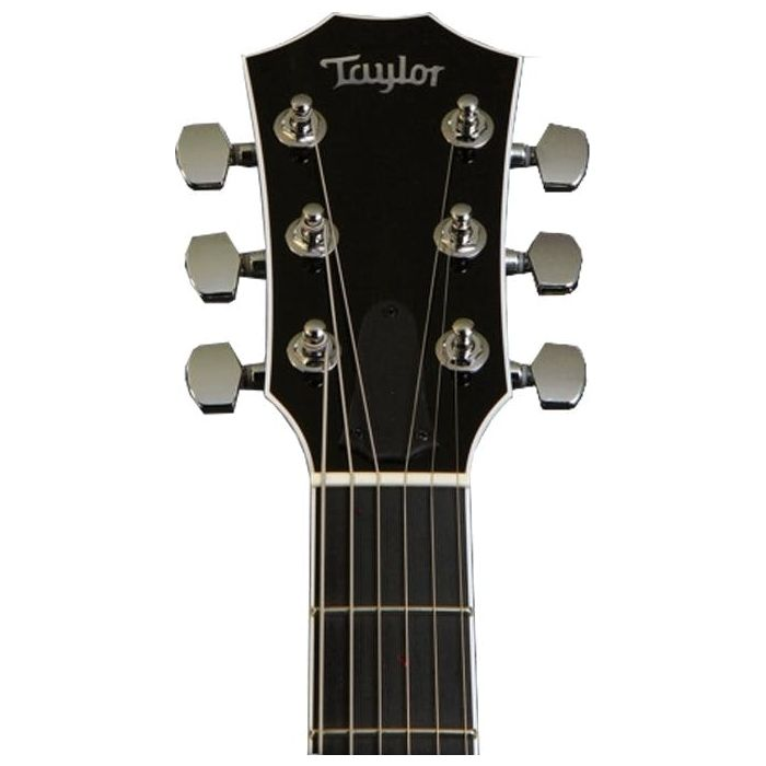 Headstock Front View of Taylor T5z Pro Tobacco Sunburst