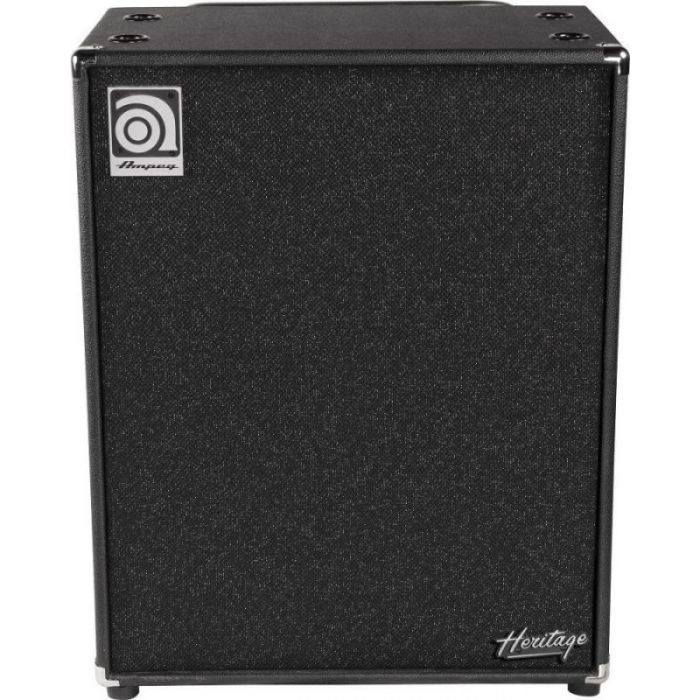 Full front view of a Ampeg HSVT-410HLF USA 4 z 10 Speaker Cabinet