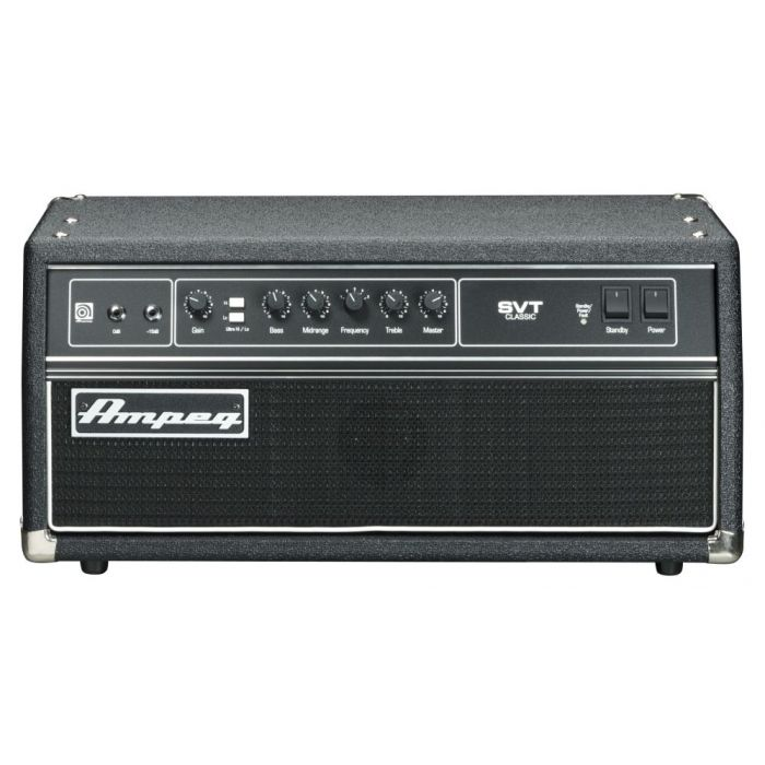Full frontal view of an Ampeg SVT-CL Bass Valve Amp Head