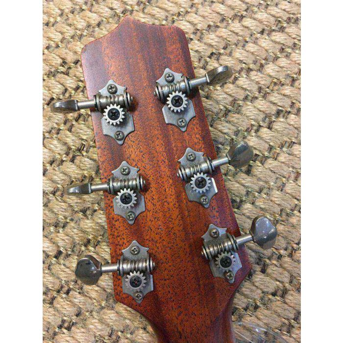Takamine TF340SBG Tradesman Headstock Rear View