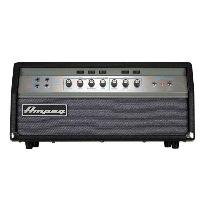 Full frontal view of a Ampeg SVT-VR Bass Guitar Amp Head