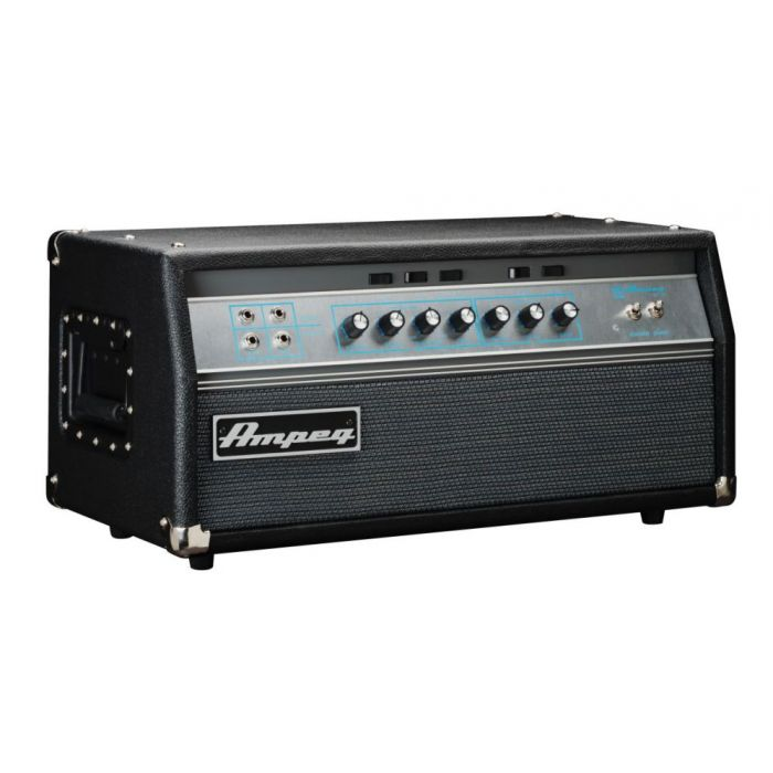 Front angled view of an Ampeg SVT-VR Bass Guitar Amp Head