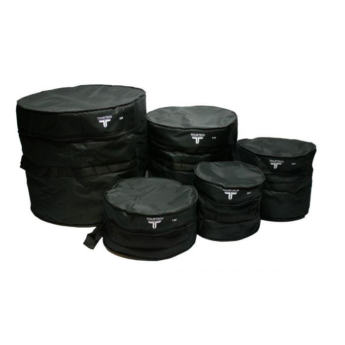 TourTech Eco 5-Piece Drum Bag Set