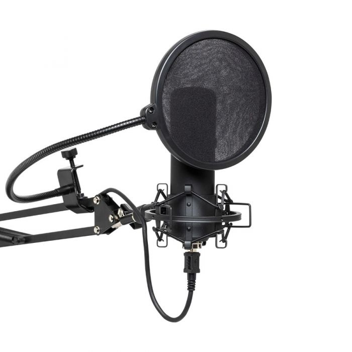 Stagg SUM45 USB Microphone with Accessories