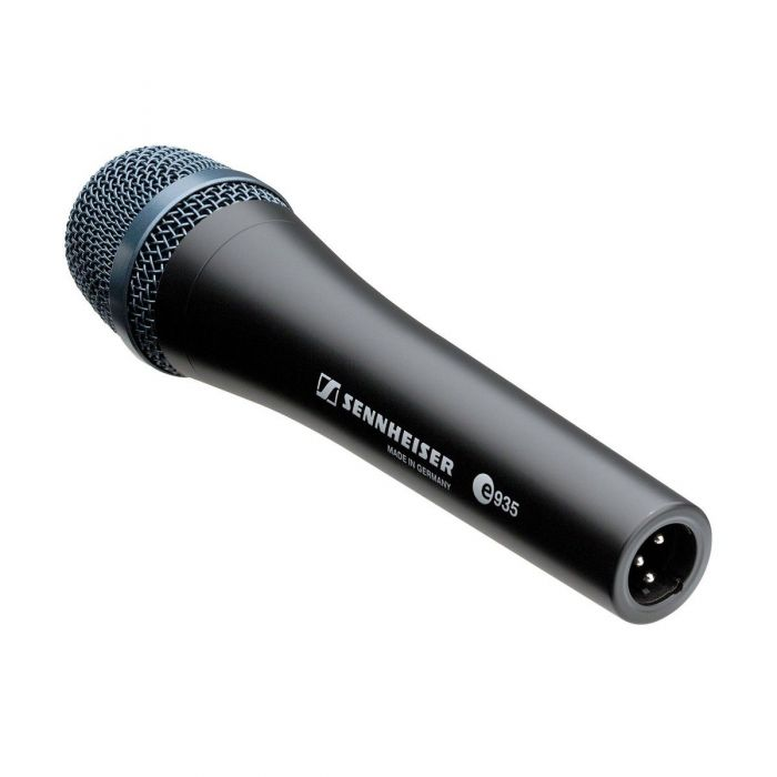 Right angled view of a Sennheiser E935 Dynamic Cardioid Vocal Microphone