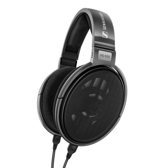 Right angled view of Sennheiser HD 650 Headphones