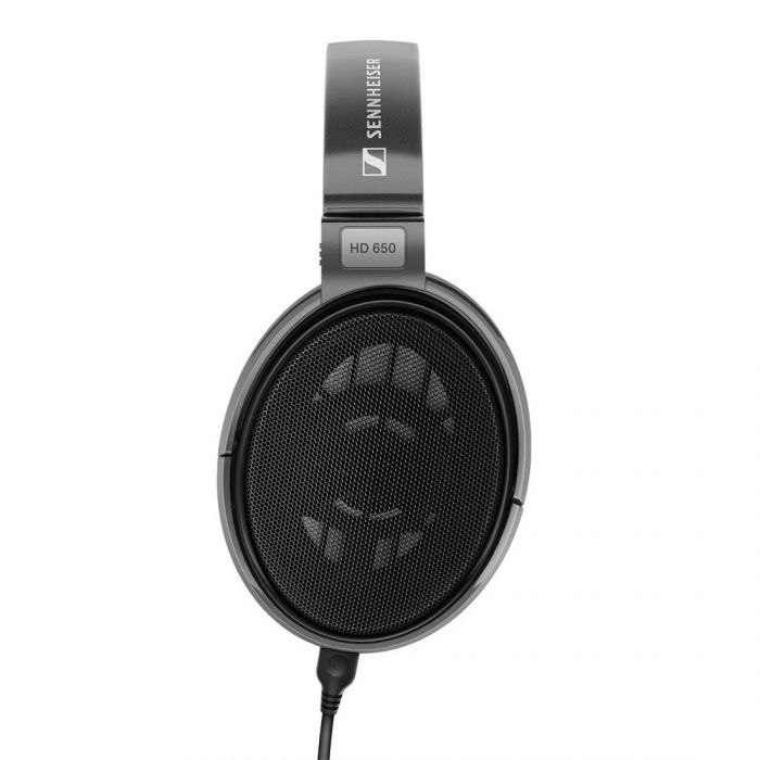Side on view of a Sennheiser HD 650 Headphones set