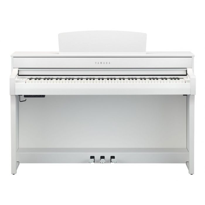 Front of Yamaha CLP-745 Digital Piano White