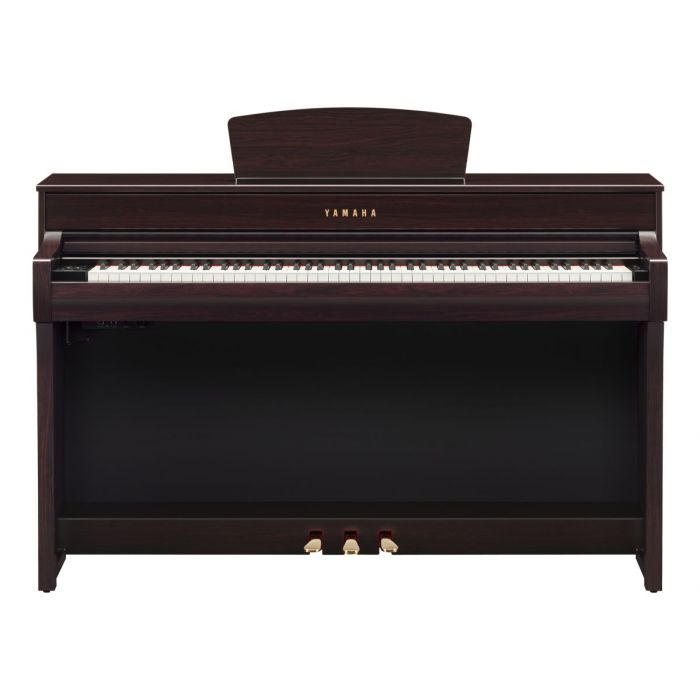 Front View of Yamaha CLP-735 Digital Piano Rosewood