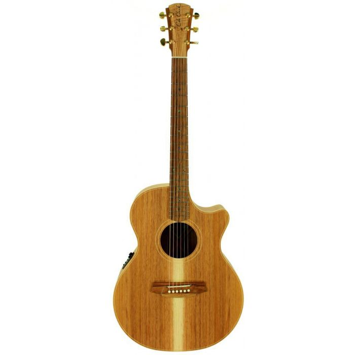 Cole Clark Angel 2 AN2EC All Blackwood Full Front View