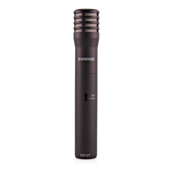 Shure SM137 Condenser Microphone Front View