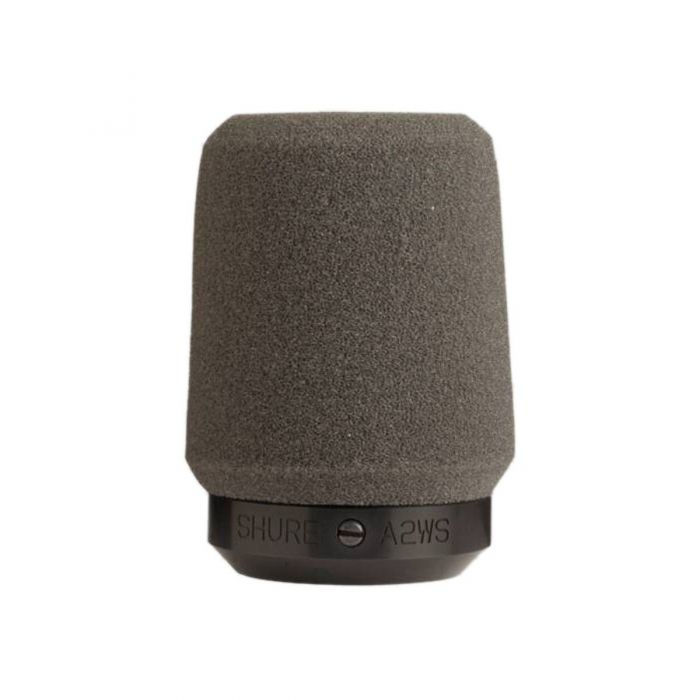 Shure A2WS Locking Foam Windshield for SM57 Front View