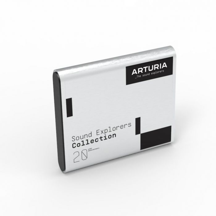 Limited Edition Arturia Sound Explorer Collection Hard Drive