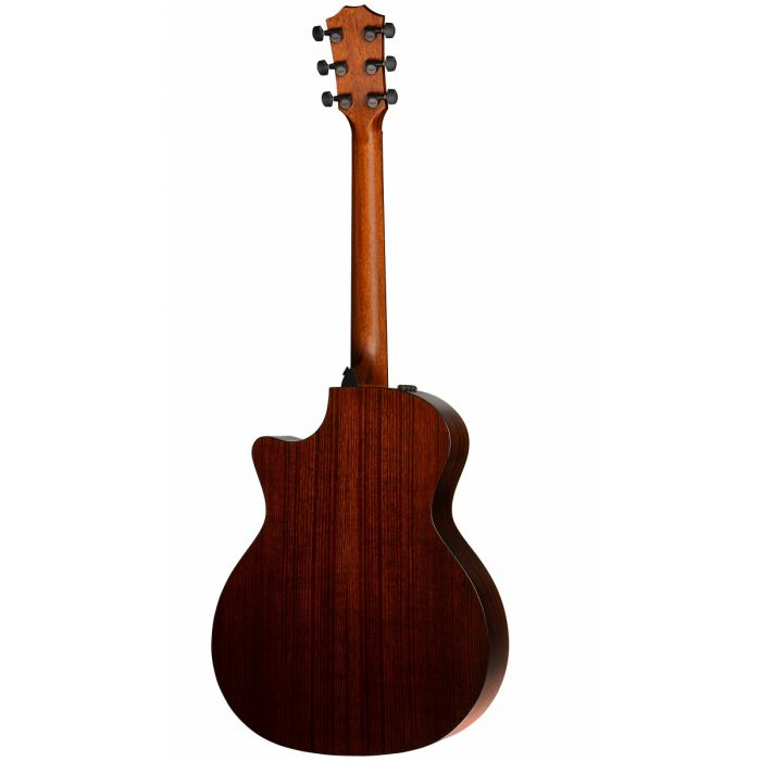 Rear View of Taylor 324ce V-Class Electro Acoustic Guitar