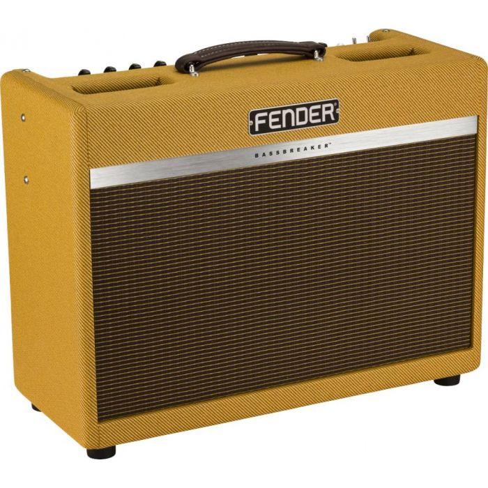 Angled View of Fender Bassbreaker