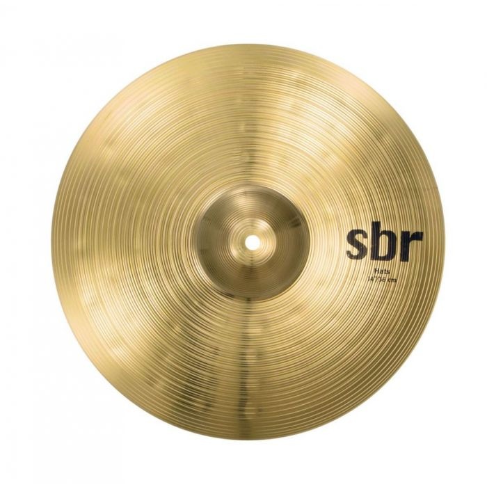 Top-down view of a set of Sabian SBr 14-Inch Hi Hats