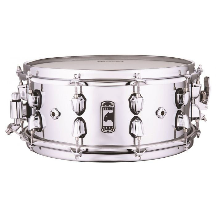 Full view of a Mapex Black Panther Cyrus 14x6 Inch Snare Drum