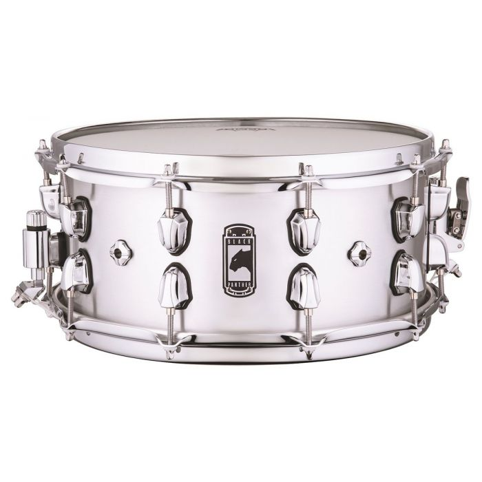Full view of a Mapex Black Panther Atomizer Aluminium Snare