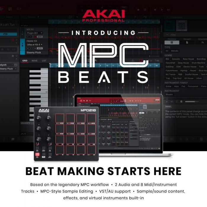 MPC Beats Software
