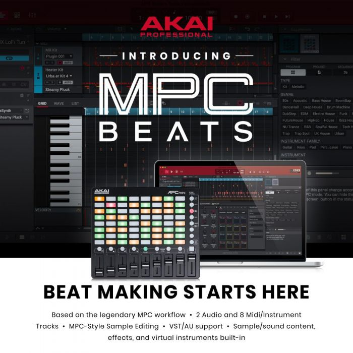 MPC Beats Software