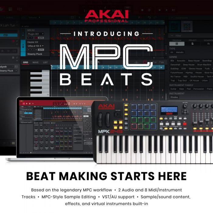 MPC Be\ats Software
