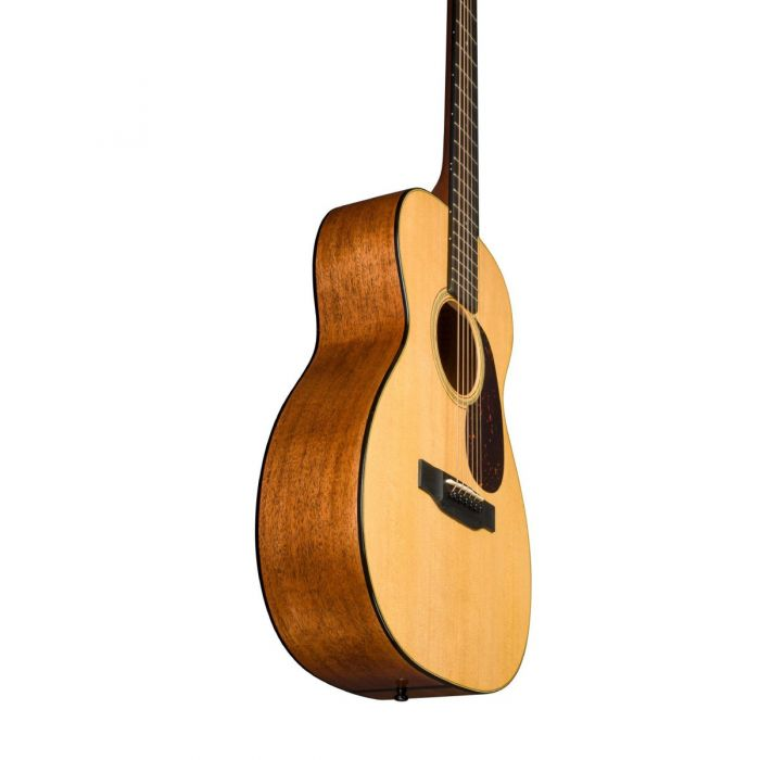 Martin 0-18 Acoustic Guitar Underneath Side Angle