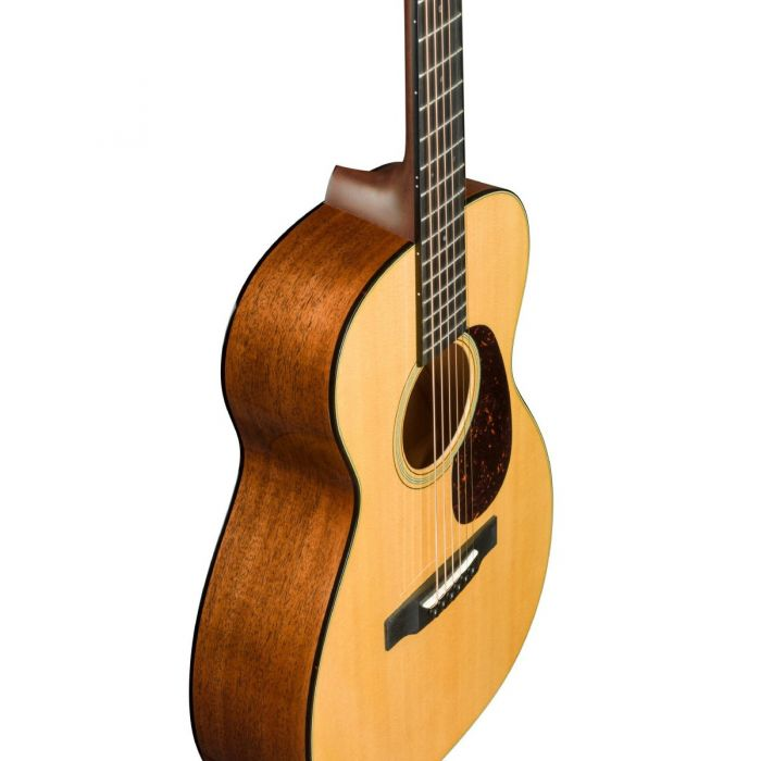 Martin 0-18 Acoustic Guitar Top Side Angle