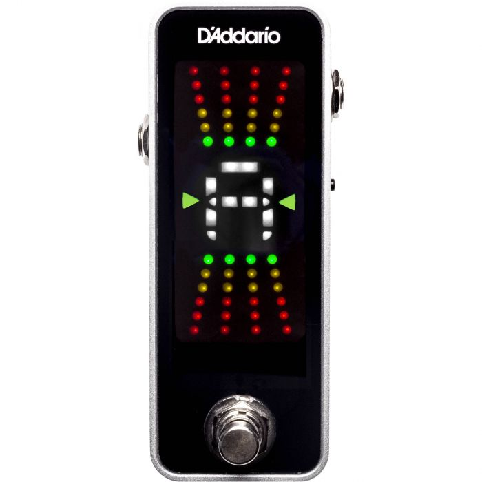 D'Addario PW-CT-20 Chromatic Pedal Tuner Top View