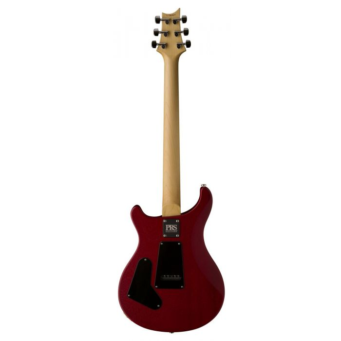 Full rear-sided view of a PRS Ltd Edition CE24 Standard Satin Vintage Cherry