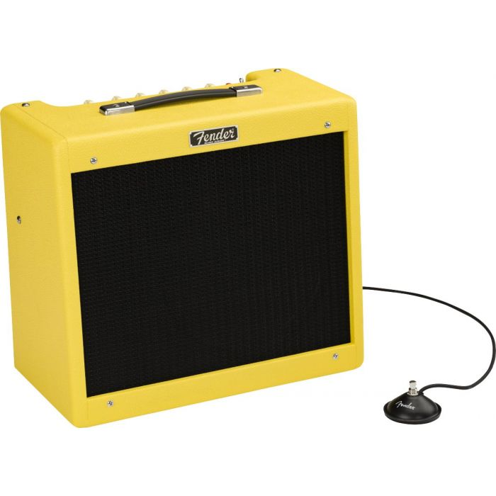 Fender 2020 Limited Edition Blues Junior IV Combo Guitar Amp Graffiti Yellow