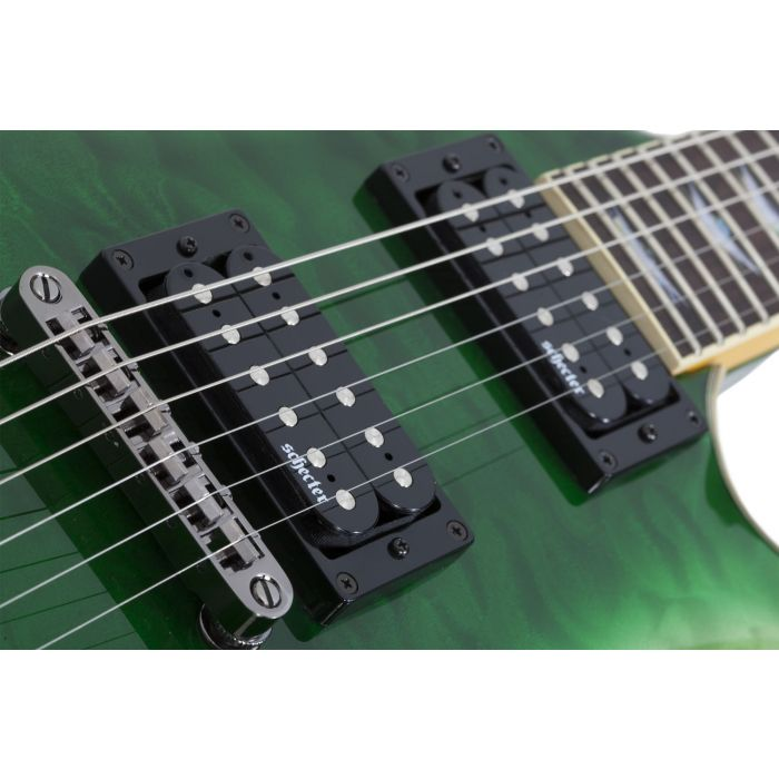 Schecter Omen Extreme 6 Manalishi Pickups and Bridge