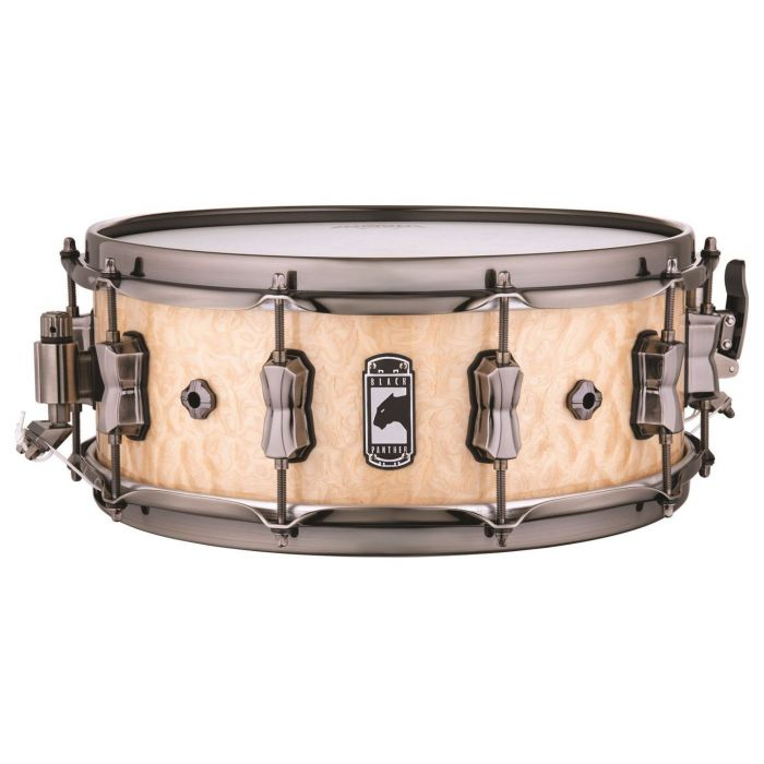 Full view of a Mapex Black Panther Pegasus Snare