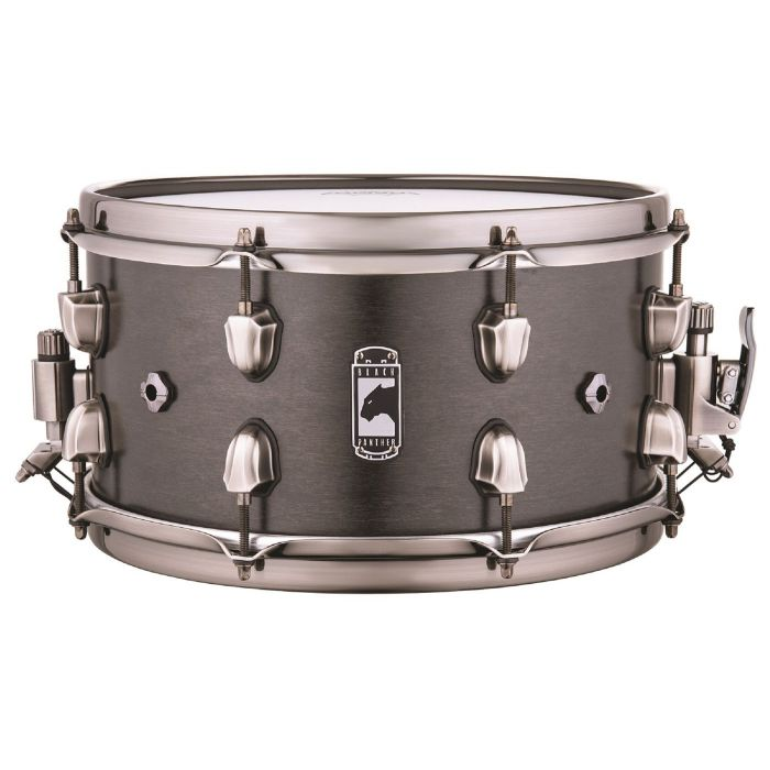 Full view of a Mapex Black Panther Hydro Snare