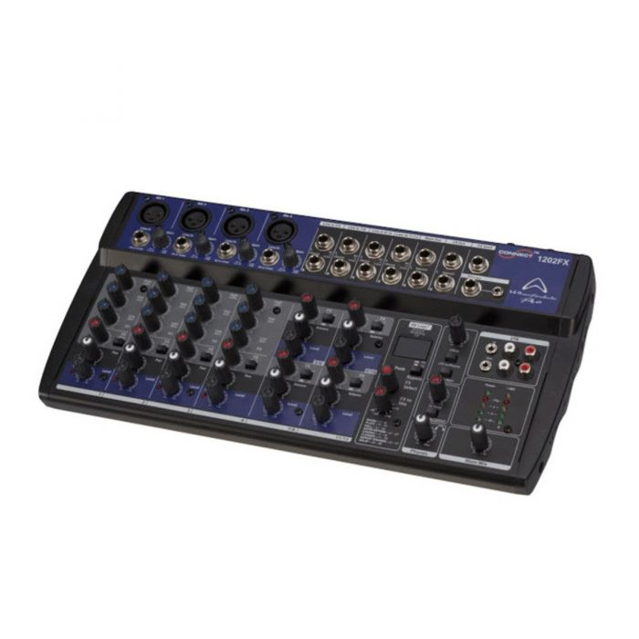 Angled View of Wharfedale Connect 1202FX Mixer