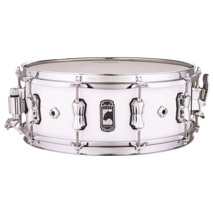 Full view of a Mapex Black Panther Venmop Maple Shell Snare