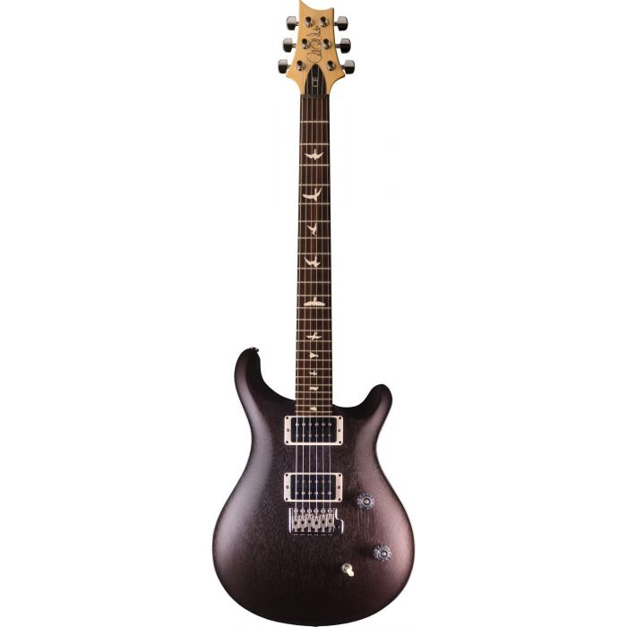 Full frontal view of a PRS Ltd Edition CE24 Standard Satin Vintage Mahogany