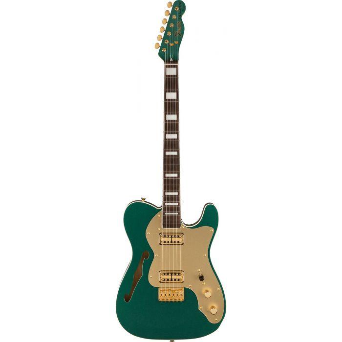 Full frontal view of a Fender FSR MIJ Super Deluxe Thinline Telecaster