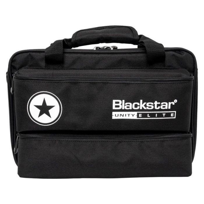 Full view of a Blackstar Unity 700H Elite 700w Bass Head gig bag