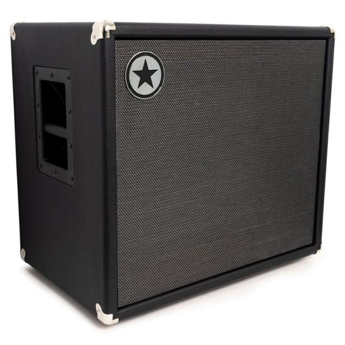 Front left angled view of a Blackstar Unity 115C Elite 1 x 15 Passive Bass Cabinet