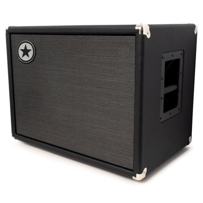 Front right angled view of a Blackstar Unity 210C Elite 2 x 10 Passive Bass Cabinet