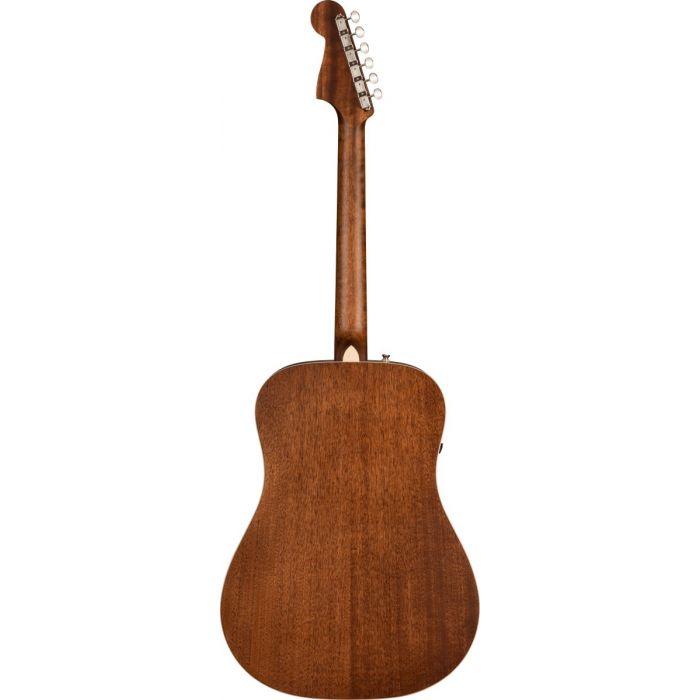 Back of Fender Redondo Special Mahogany Electro-Acoustic Guitar