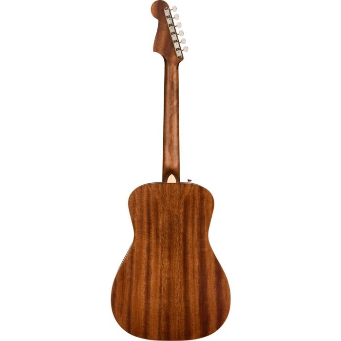 Back of Fender Malibu Special Mahogany Electro-Acoustic Guitar