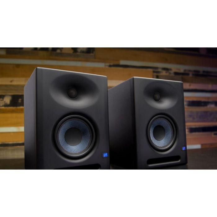 PreSonus Eris E5 XT Studio Monitors In Use