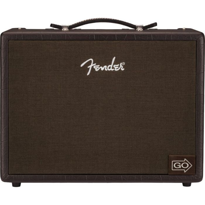Full frontal view of a Fender Acoustic Junior GO Acoustic Guitar Amplifier