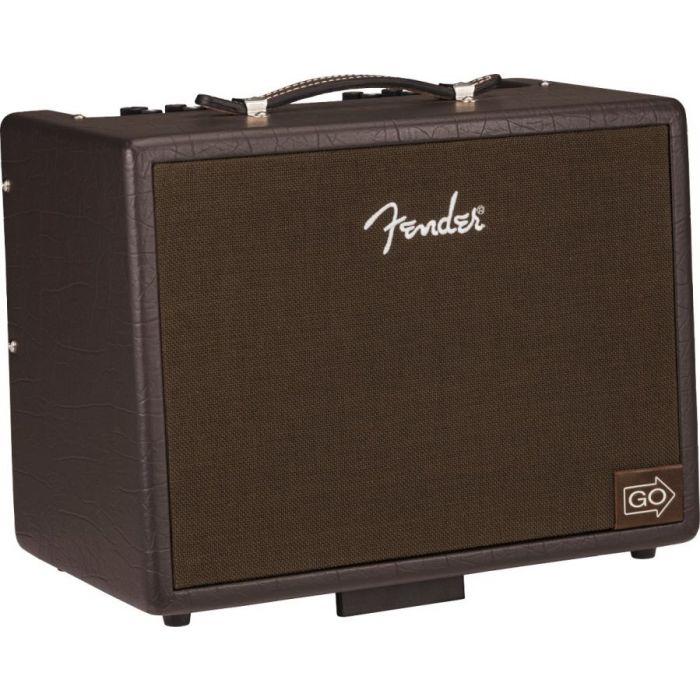 Tilted back Fender Acoustic Junior GO Acoustic Guitar Amplifier