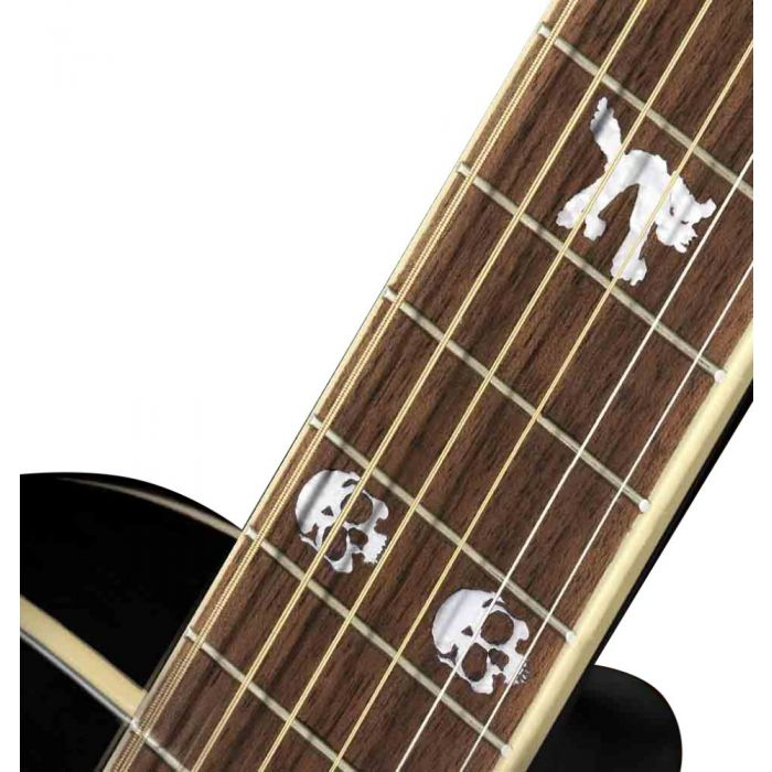 Fender Tim Armstrong 10th Anniversary Hellcat Electro-Acoustic Guitar Fretboard