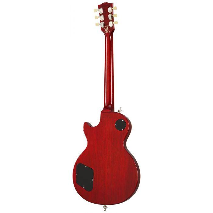 Full rear view of a Gibson Ltd Edition Slash Les Paul Vermillion Burst